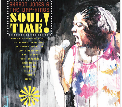 SHaron Jones-oul Time LP Front