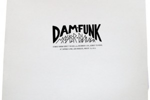 Dam Funk is releasing a live recording on vinyl only