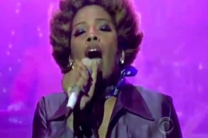 Video: Macy Gray &quot;Creep&quot; (Radiohead) Live on David Letterman Show