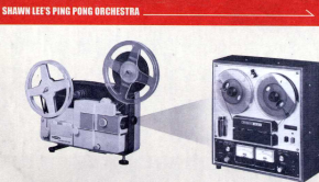 Shawn Lee's ping pong orchestra - reel to reel - cover - vignette