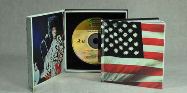 Sly & The Family Stone - There's a riot - gold CD+booklet+goldCD
