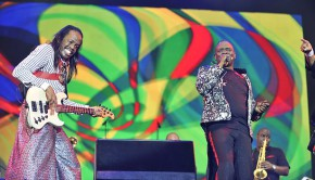 Earth Wind & Fire 2014 Hyde Park