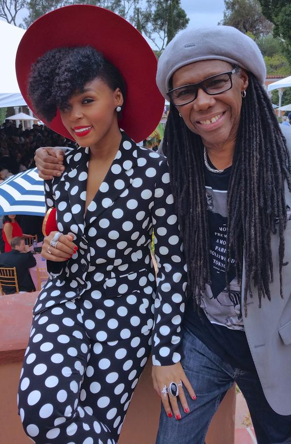 Janelle + Nile Rodgers
