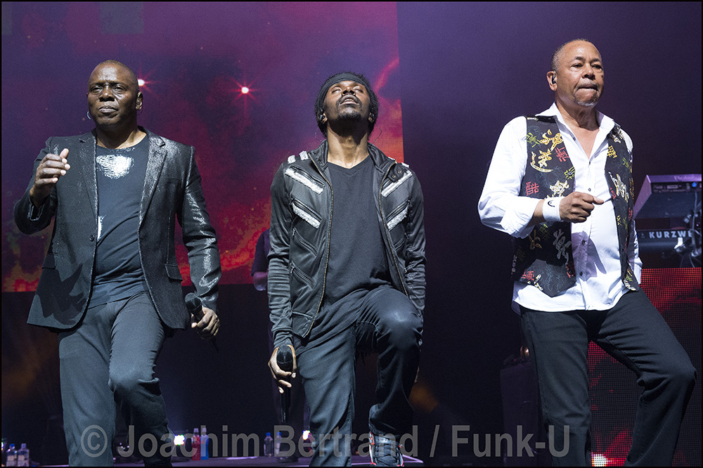 Earth Wind @ Fire live @ Olympia Hall Paris
