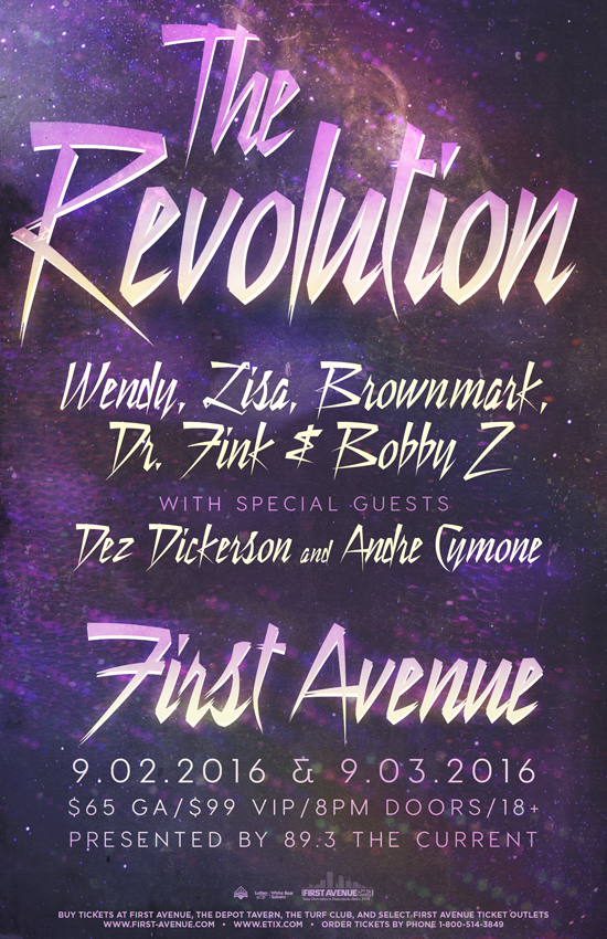 TheRevolution-2016+Concerts+FirstAvenue