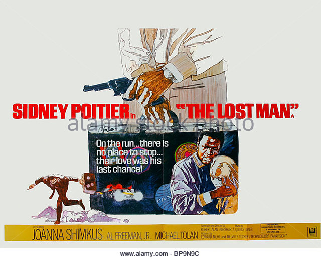 folded-film-poster-the-lost-man-1969-bp9n9c