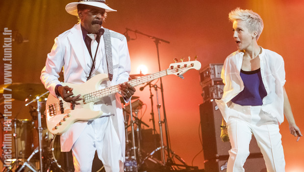 Jeanne Added + Larry Graham