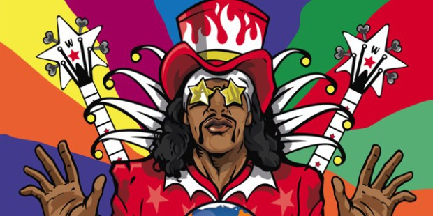 Bootsy Collins World Wide Funk Header