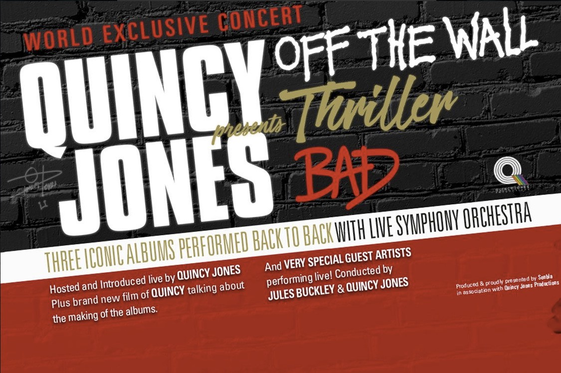 Qunicy Jones - Michael Jackson - London O2 - 23 juin 2019