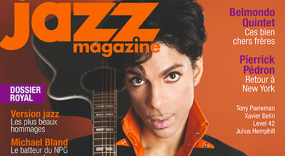 Prince Jazz Mag une